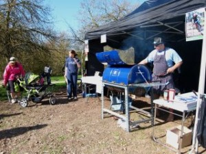BBQ at the Croft Trail in Swindon