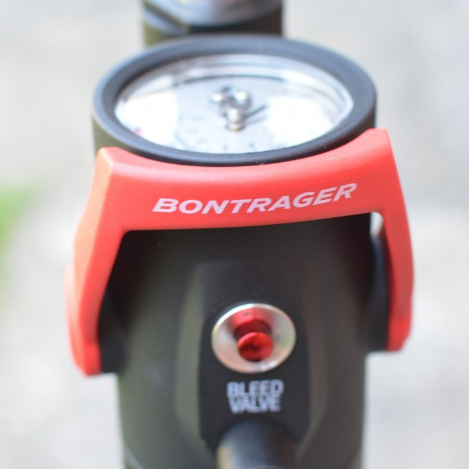 Bontrager flash charger pressure guage