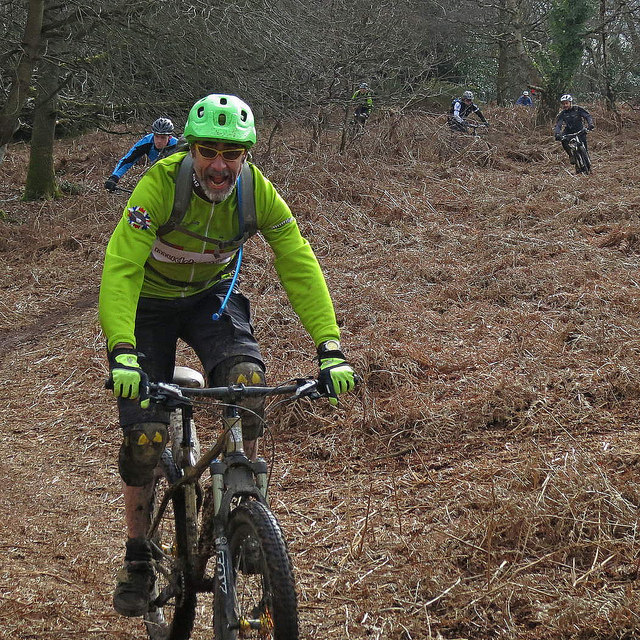 Dandy leads the Secret Singletrack charge