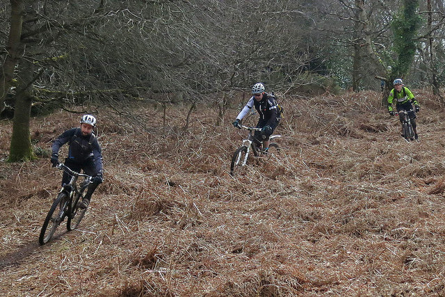Secret Singletrack chain gang
