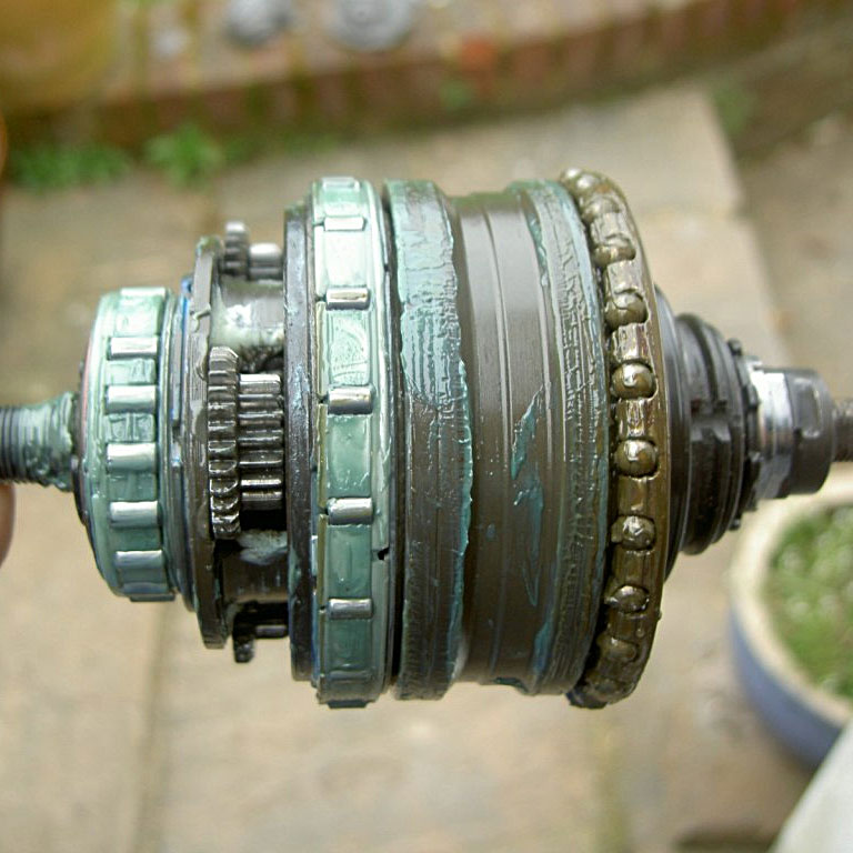 Shimano Alfine 8-speed internals
