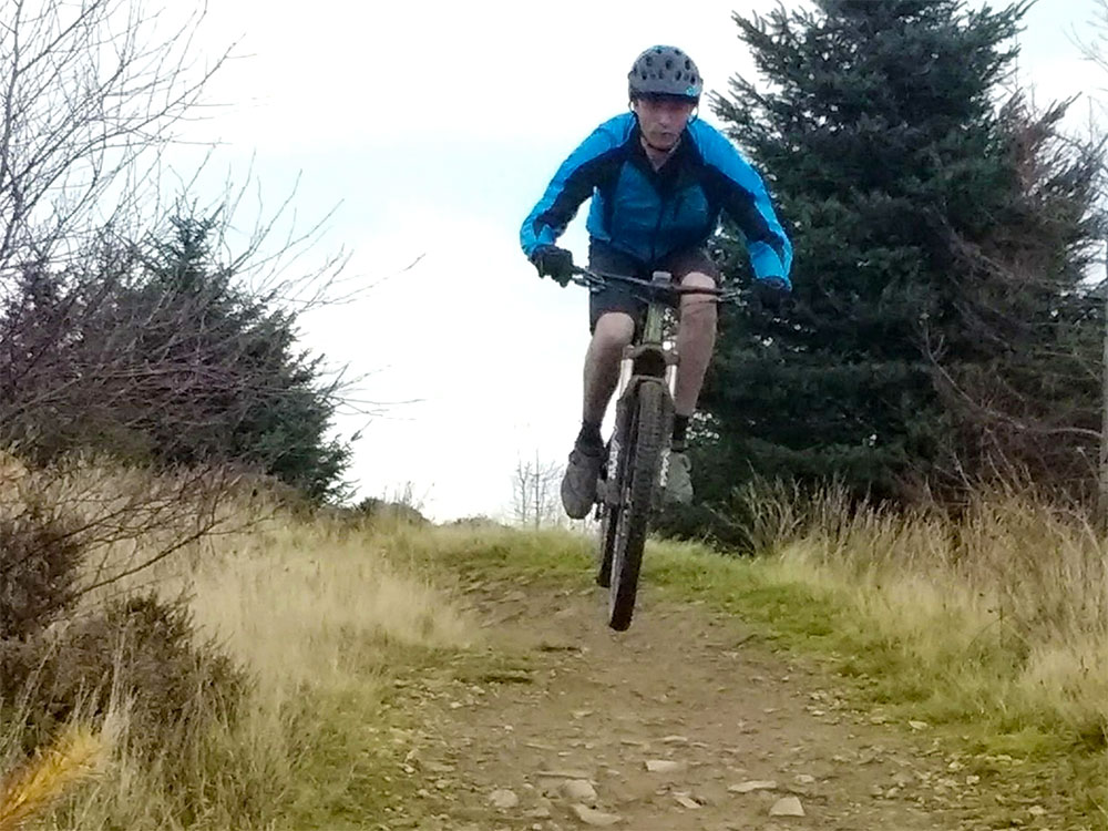 Elliot at Cwmcarn