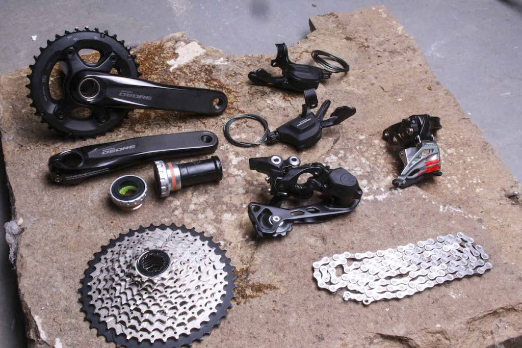 Deore M6000 Groupset 2018 - from http://singletrackworld.com