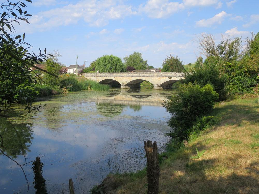 The bridge at Chaumassay