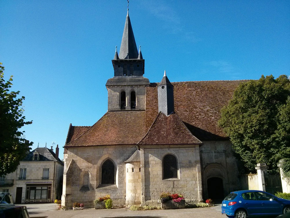 Le Grand-Pressigny church