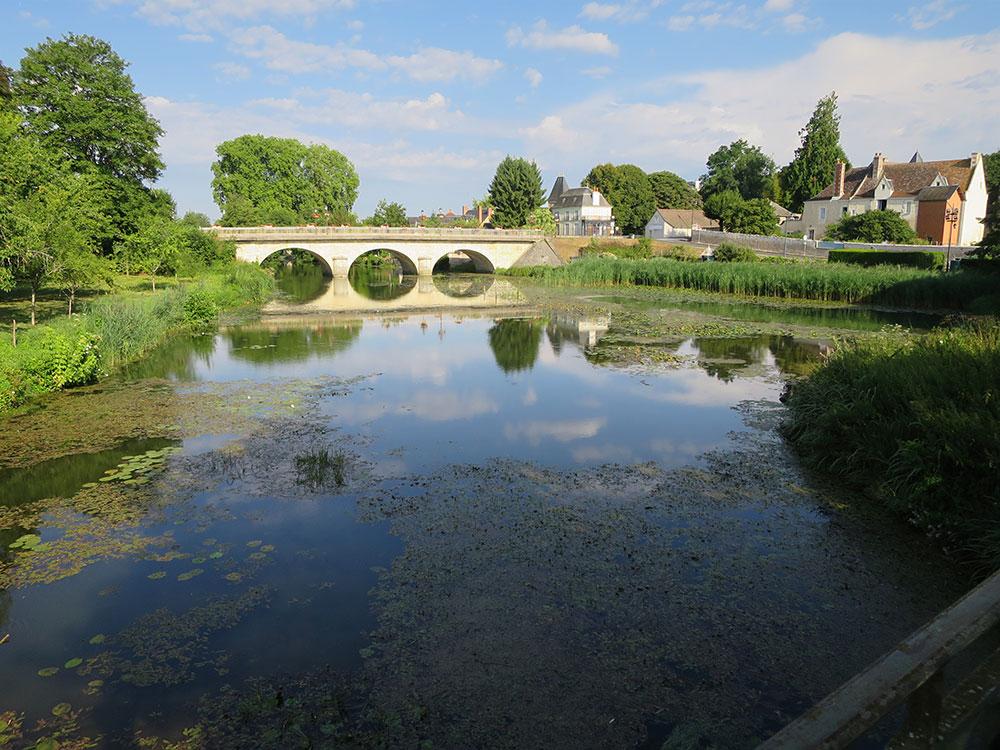 The bridge at Preuilly-sur-Claise
