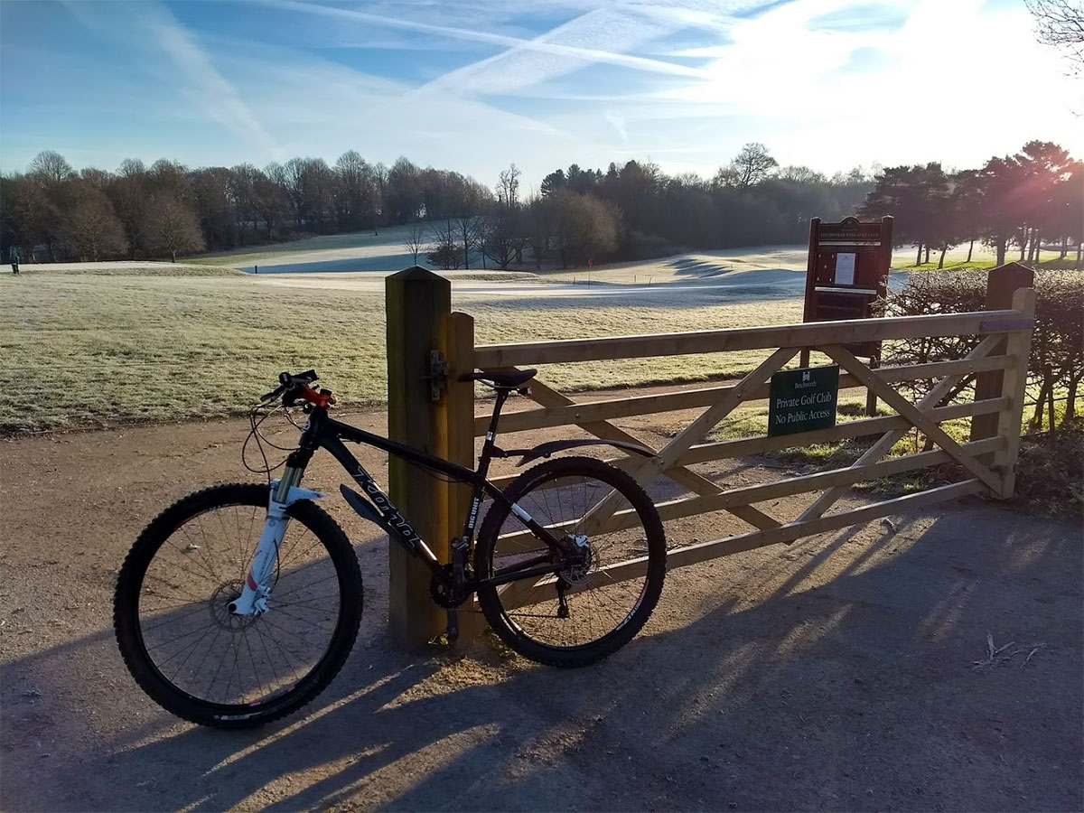 Frosty morning at Brockham