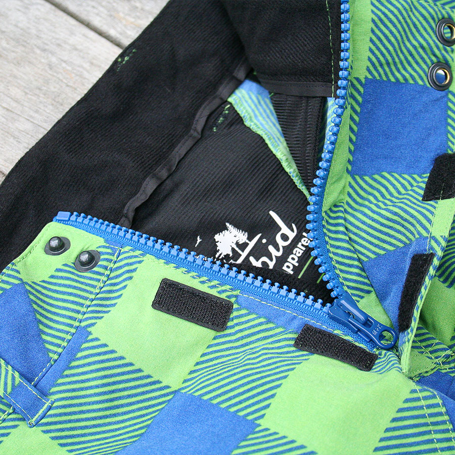 Front zip on the Intrepid Apparel Mission shorts
