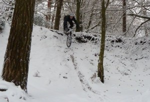 Roll in on Leith Hill in the snow