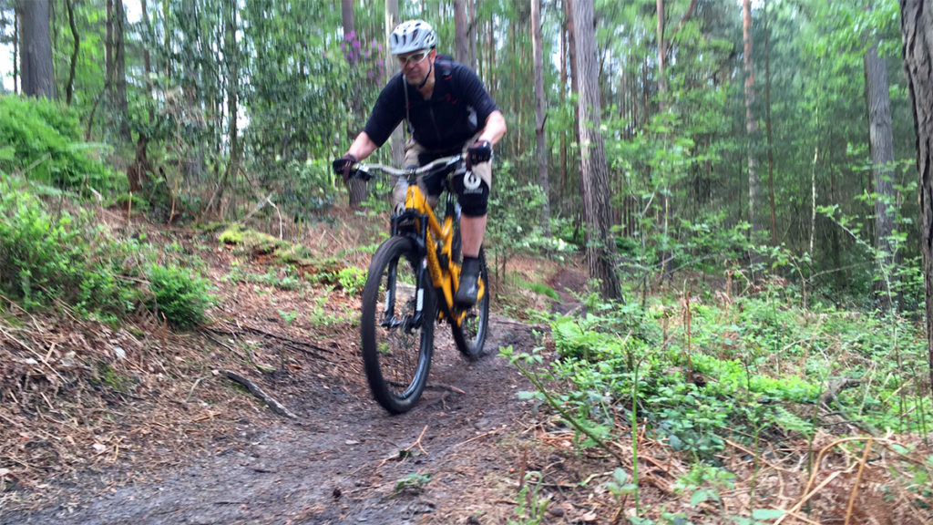 Lloyd heads downhill