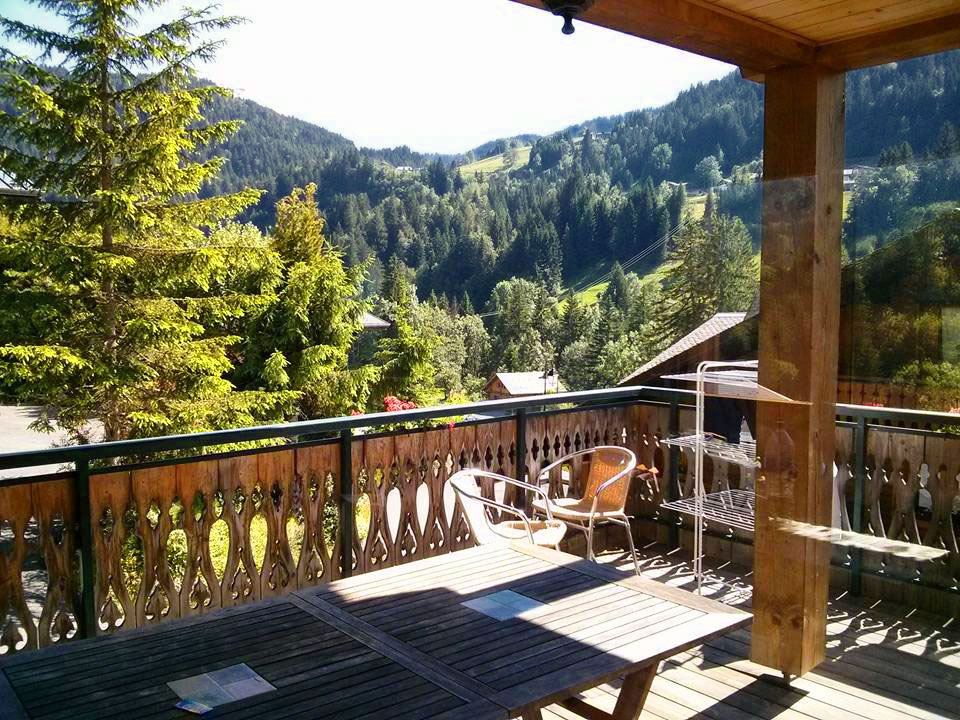 View from the Chalet Eterle