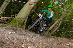Andrew at the QECP Enduro