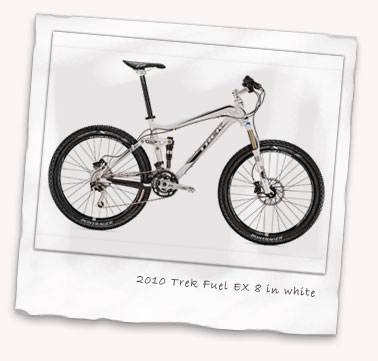2010 Trek Fuel EX 8 in white
