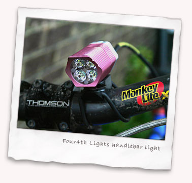 Four4th Lights handlebar light 17 degree