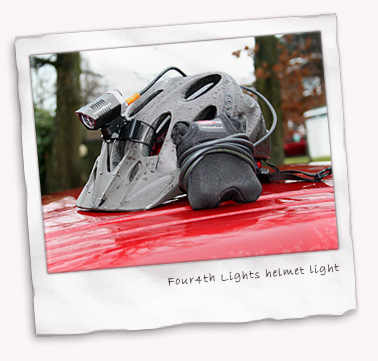 Four4th Lights helmet light 10 degree