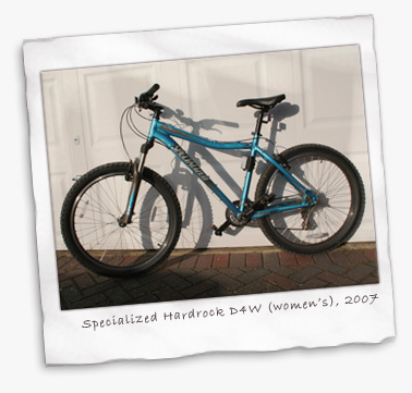 Specialized Hardrock Sport D4w Designs For Women 2007 Review